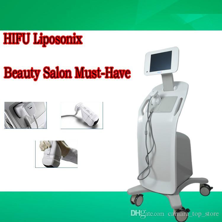 Hifu Liposonix 2 Em 1 velashape Máquina de Lipoaspiração Ultra-Lipoaspiração Lipohifu Máquina de Termas Da Pele Liposonic Slimming Therapy Salon