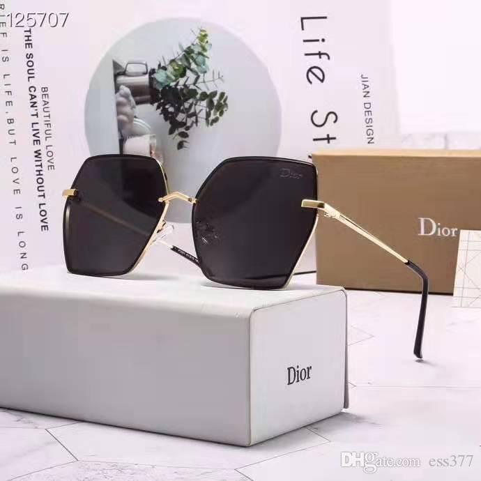 Brand Designers Polarized Men women Sunglasses Semi-Rimless frame Driving glasses Polarizing Lenses with free brown Case and accessories