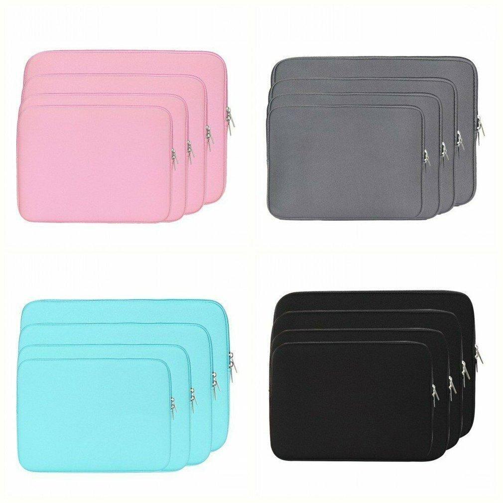 Nueva Portátil caja de la manga bolsa del bolso de la cubierta para el MacBook Air / Pro 11''13''14''15'Protective Bolsa por no