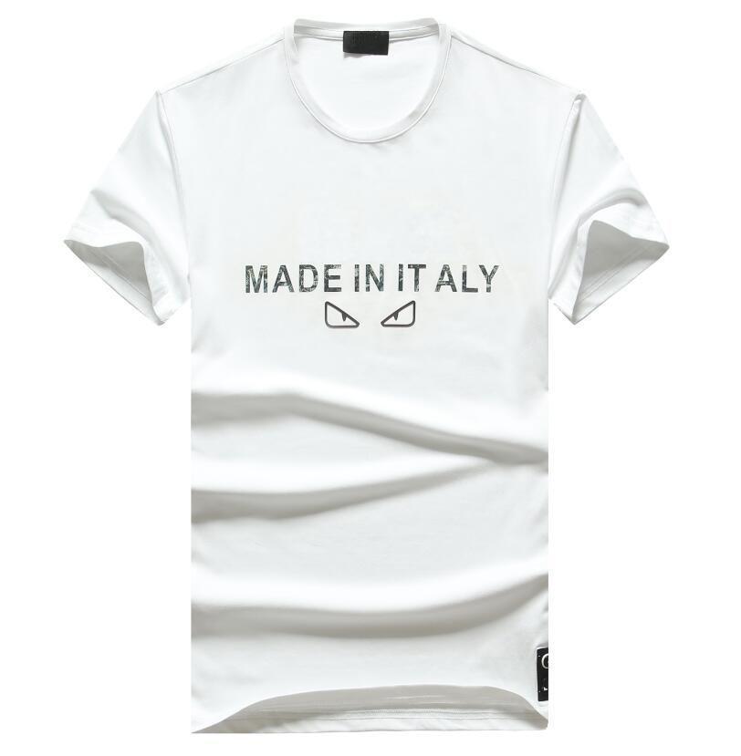Hot sale mens t shirts colorful printed fashion t-shirts round neck short sleeve T-shirt free shipping