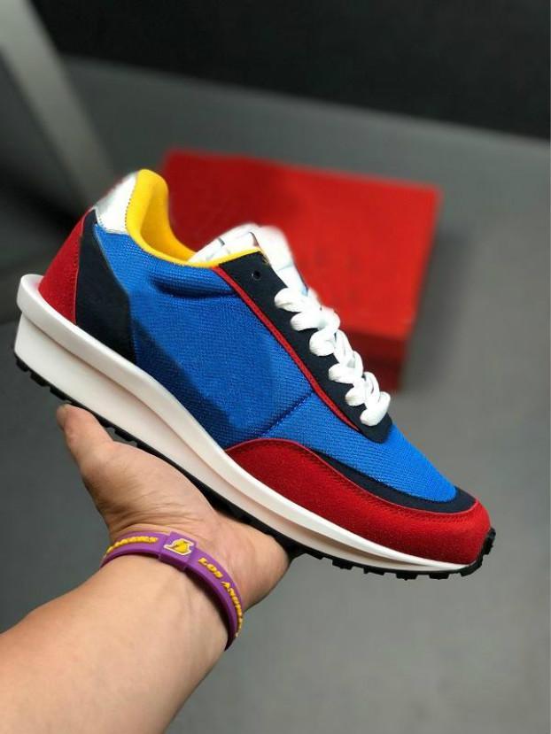 2019 высокое качество Sacai LDV вафля Рассвет тренеры обувь для мужчин женщин модельер дышать рубец s кроссовки спортивная обувь Артур