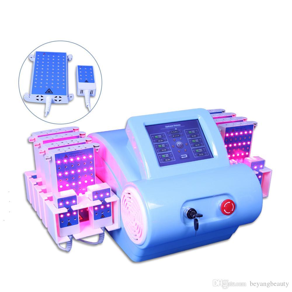 Sıcak satış lipo lazer makinesi / taşınabilir 528diodes ev kullanımı ultrasonik liposuction Selülit makinesi Lazer Slim için lazer lipo
