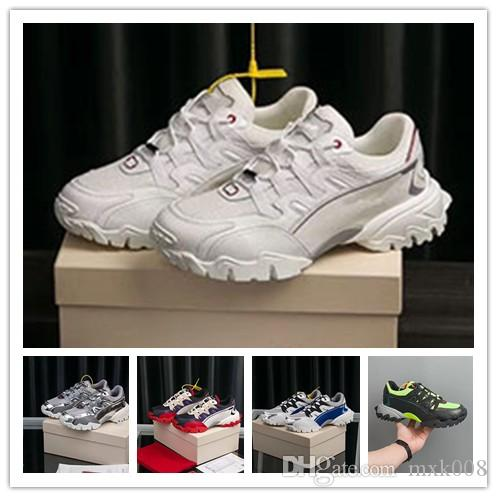 2020 de lujo de los hombres de los zapatos ocasionales barato Mejor calidad superior de las zapatillas de deporte para hombre de la fiesta de moda para mujer zapatos de terciopelo Deportes tenis de las zapatillas 1a19