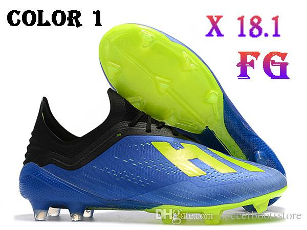 newest afdb7 7ecca Mens Low Ankle Football Boots X 18.1 Firm Ground Cleats Original X 18+  Speedmesh X18.1 Speed Mesh FG Soccer Shoes Cheap Tennis Shoes For Girls  Toddler ...