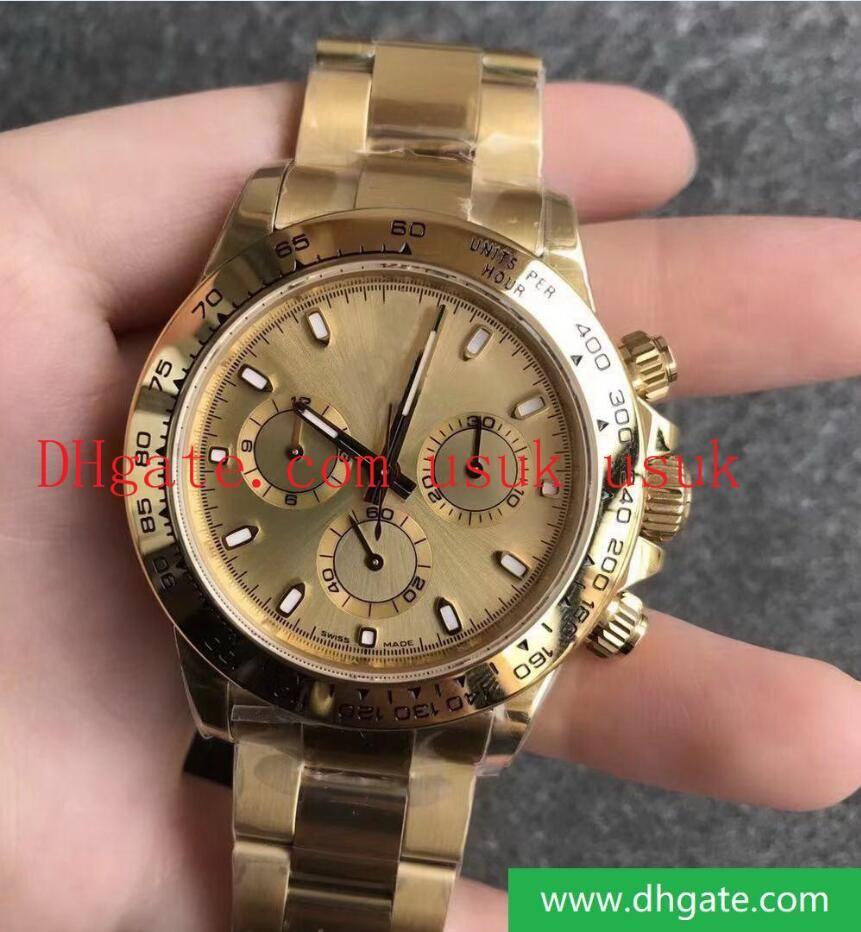 Best n Мода рафинированная сталь 904L CAL.4130 40 мм 116500 116508 116503 116505 Автоматическое механическое движение KIF амортизатор дизайнерские часы