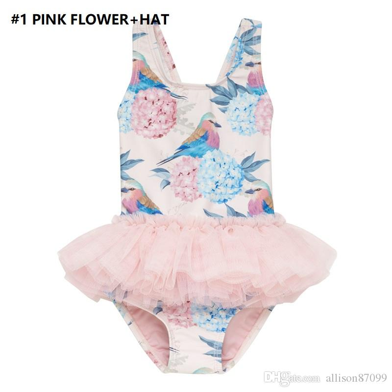 GIRLS UNICORN 1 PIECE SWIM SUIT SIZE 2T 3T 4T 5T NEW!