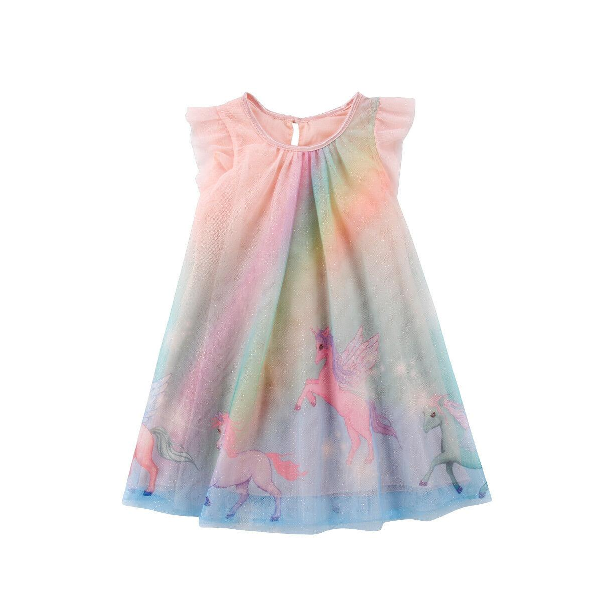 Roupa do vestido da menina vestido de tule Tutu partido do bebê Vestido de Verão de Verão