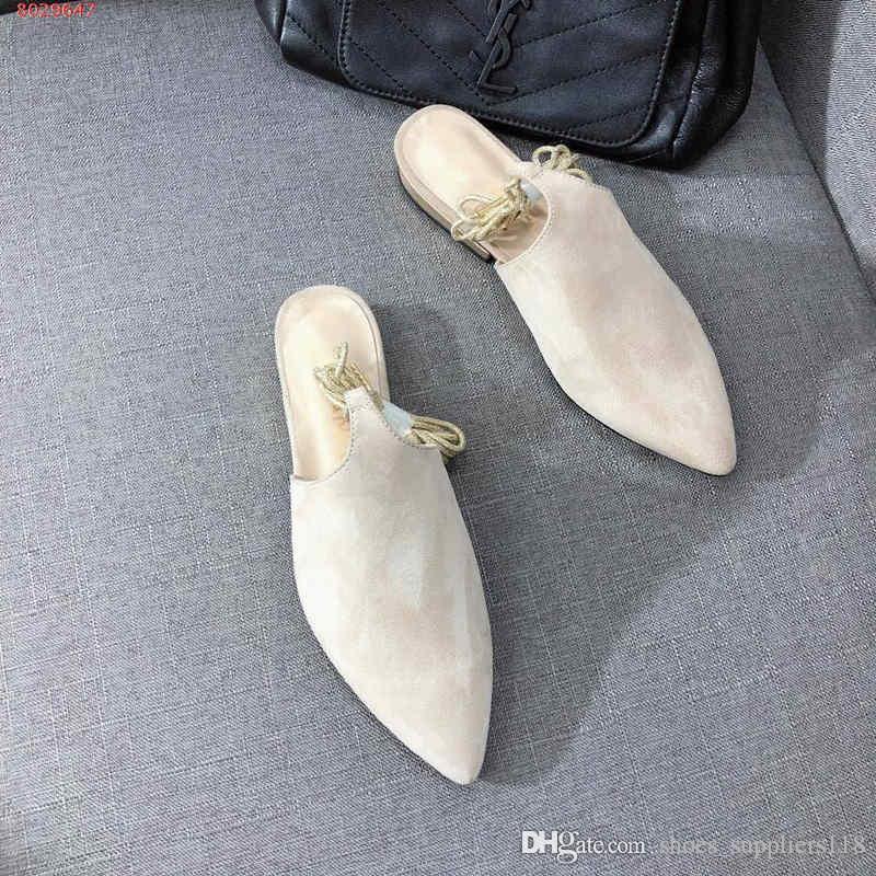 2019 nuove donne vestono scarpe fornitore di marca personalizzazione originale La corda avvolge il cordino Delicate fashion With Dust Bag