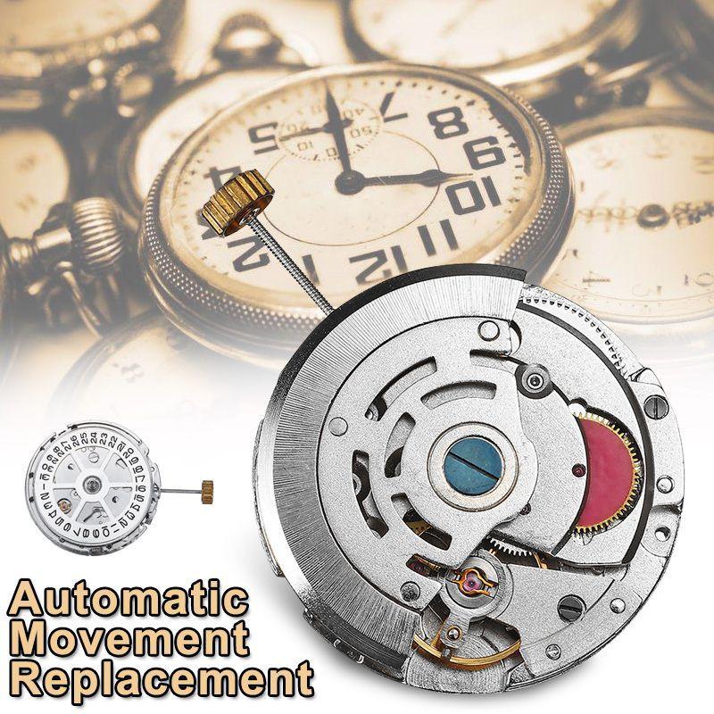 Mouvement automatique de la date de remplacement Date de chronographe Montre Accessoires Outils de réparation Kit Raccords de pièces pour 2813/8205/8215