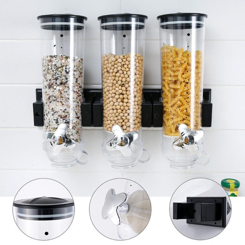 Éponte réservoir de stockage étanche Cuisine grain Distributeur de stockage baril Machine à céréales