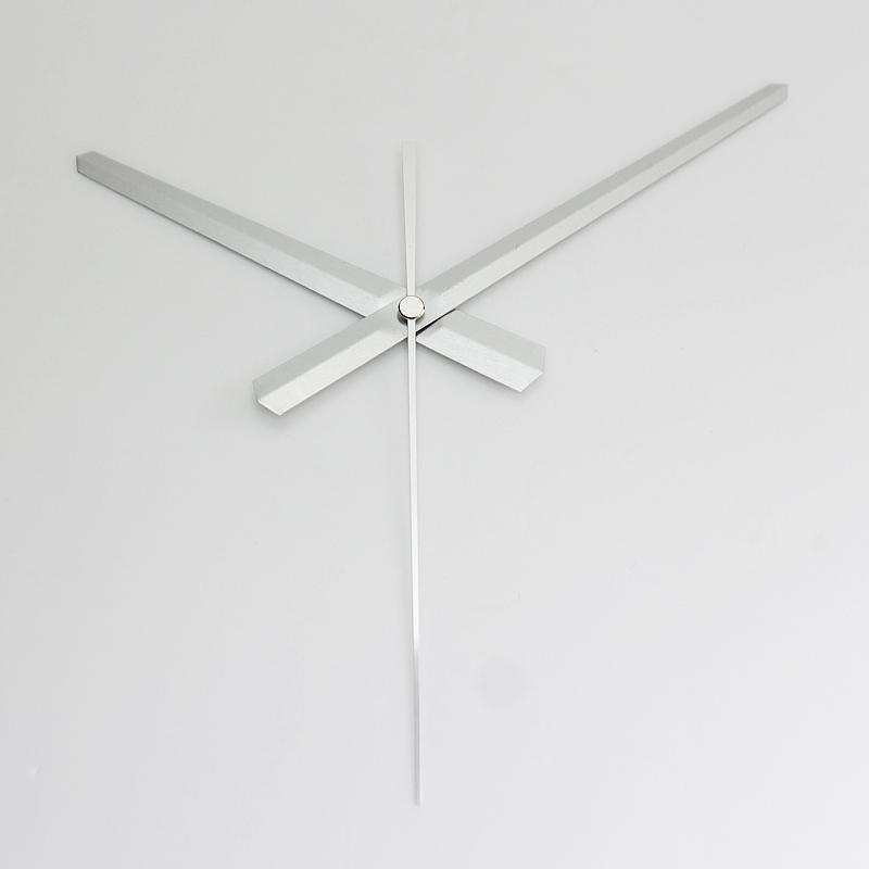 Accesorios para el hogar 100sets Skp eje manos de plata del metal de aluminio material de bricolaje manos del reloj de cuarzo del reloj de accesorios de bricolaje kits del reloj