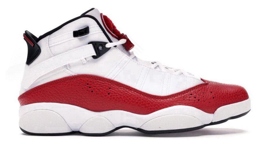6 6s Шесть колец Баскетбольные кроссовки Обувь кроссовки прыжок Concord белый университет красный развод черный белый тренажерный зал Красное косметическое матовое серебро 2019 обувь