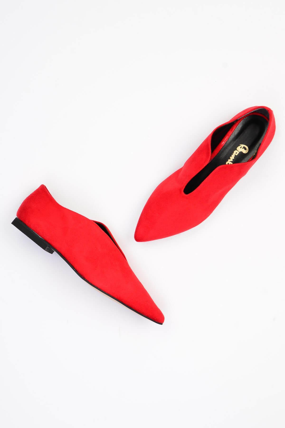 Bambi Rosso Scarpe Casual Da Donna G0444200072
