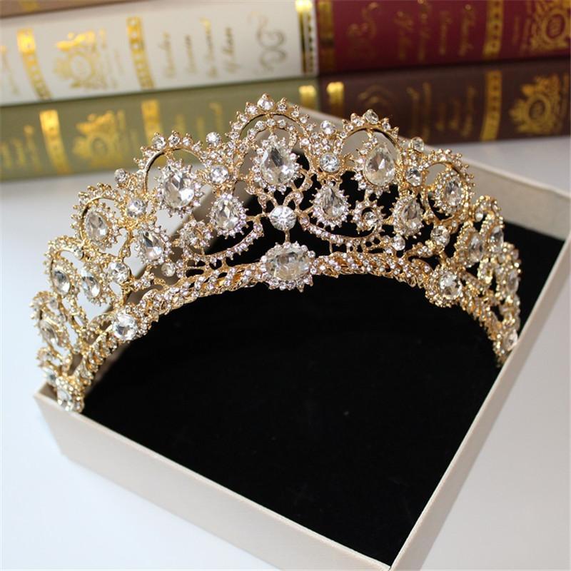 accesorios para el cabello diosa griega del arte retro vestido de boda nupcial estudio de la boda joyería de la tiara de la corona de moldeo CJ191226