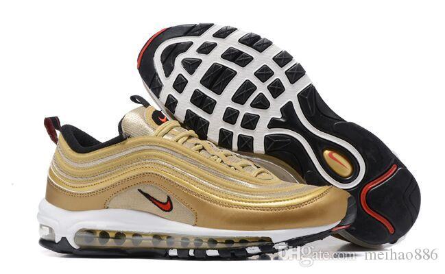 2020 Moda Yepyeni 97 Erkek Ayakkabı En 97S Kadınlar Çoklu Siyah Altın Hibrid Boyut Eur 40-45 ücretsiz kargo