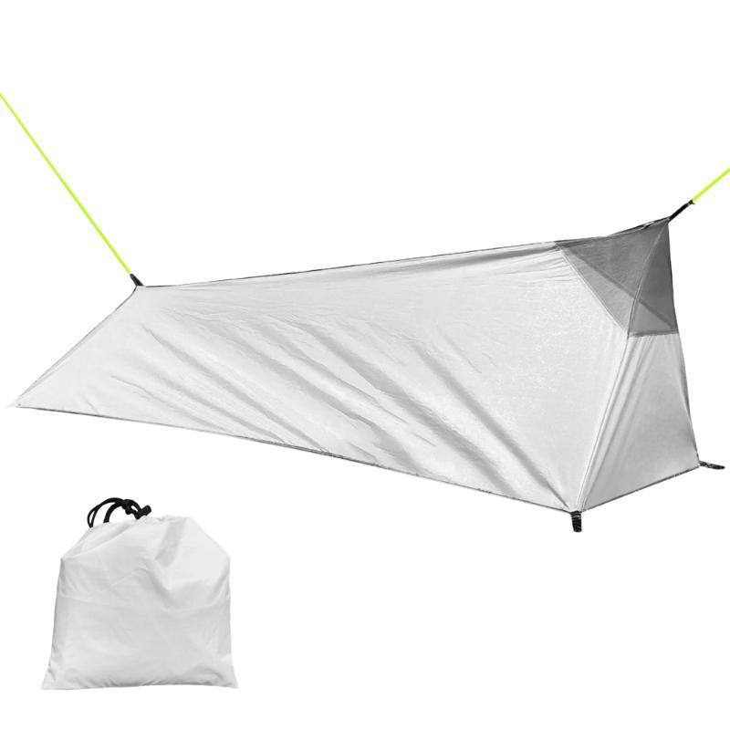 Tienda al aire libre con mochila de dormir que acampa Carpa bolsa ligera sola persona con Net 1 persona hasta acampar