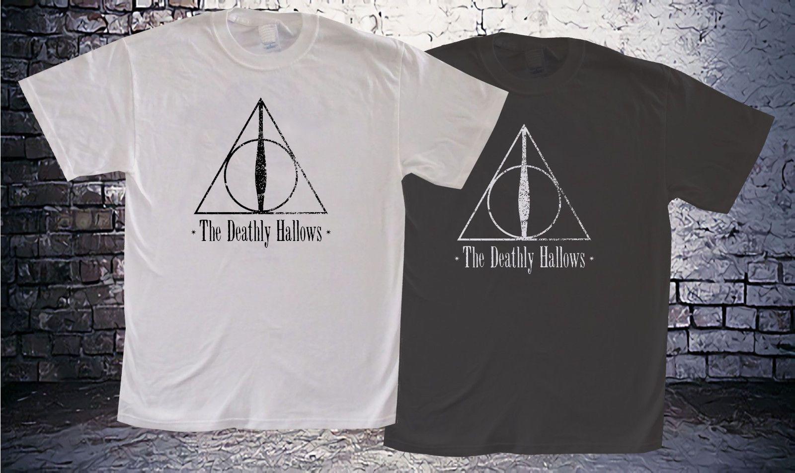 HARRY POTTER Mujer Deathly Hallows Symbol Camiseta