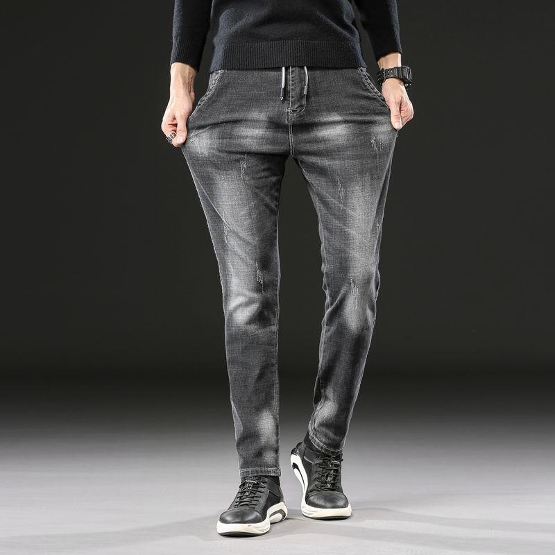 Men's Jeans 2021 Spring Autumn Cotton Men High Quality Denim Trousers Soft Mens Pants Fashion Jean Male