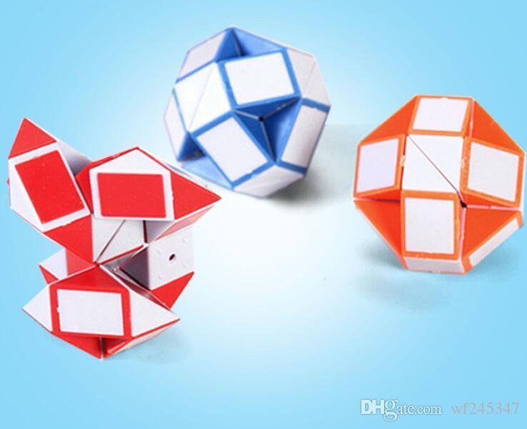 jouets éducatifs intelligence cube magique jouets Variété 24 section d'une centaine de pièces magiques de la livraison gratuite pour les enfants
