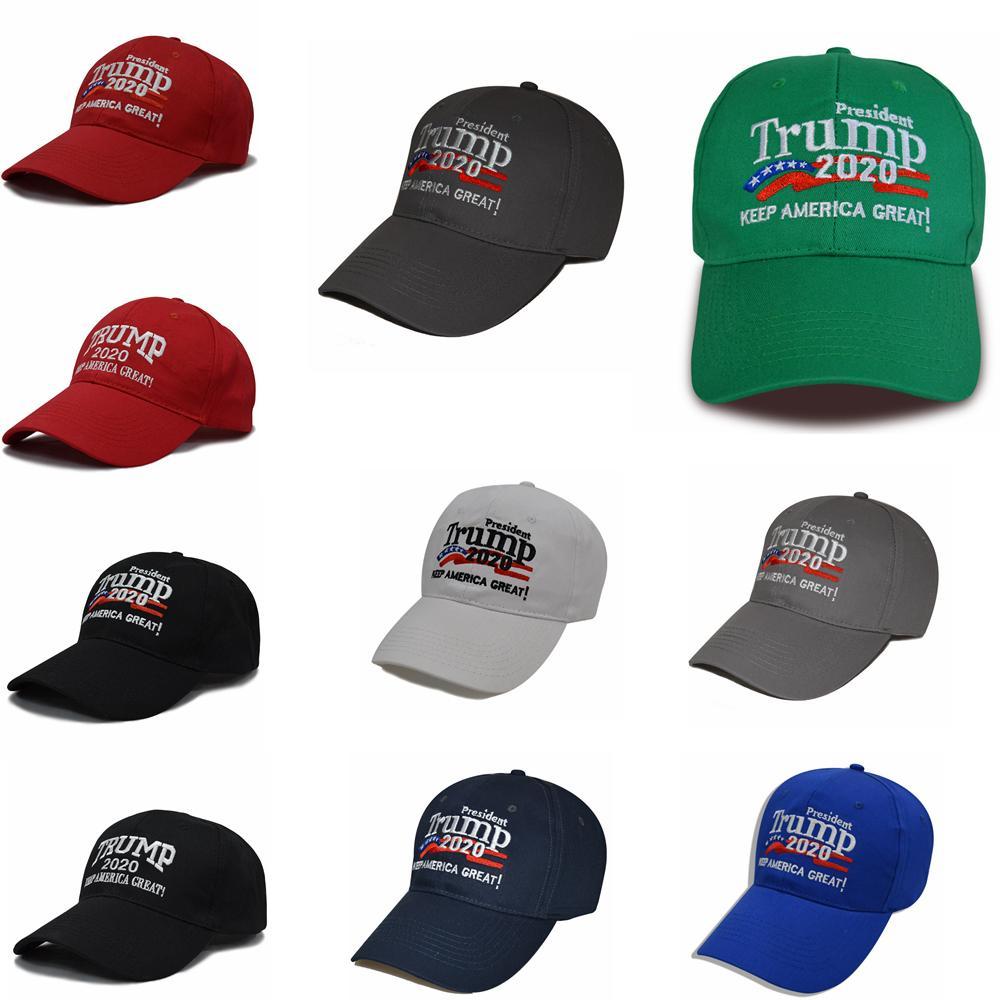 10styles trunfo baseball chapéu trunfo 2020 manter a América grande chapéu de sol ajustável de verão ao ar livre snapbacks cap FFA4073