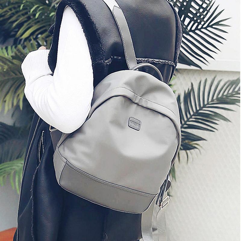Nice2019 женский нейлон женщина пакет Больше функции рюкзак школа ветер оба плеча досуг дорожная сумка