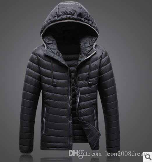 Высокое качество зима мужчины вниз толстовки куртки кемпинг ветрозащитный лыж теплый пуховик открытый повседневная с капюшоном спортивная одежда пальто 1503