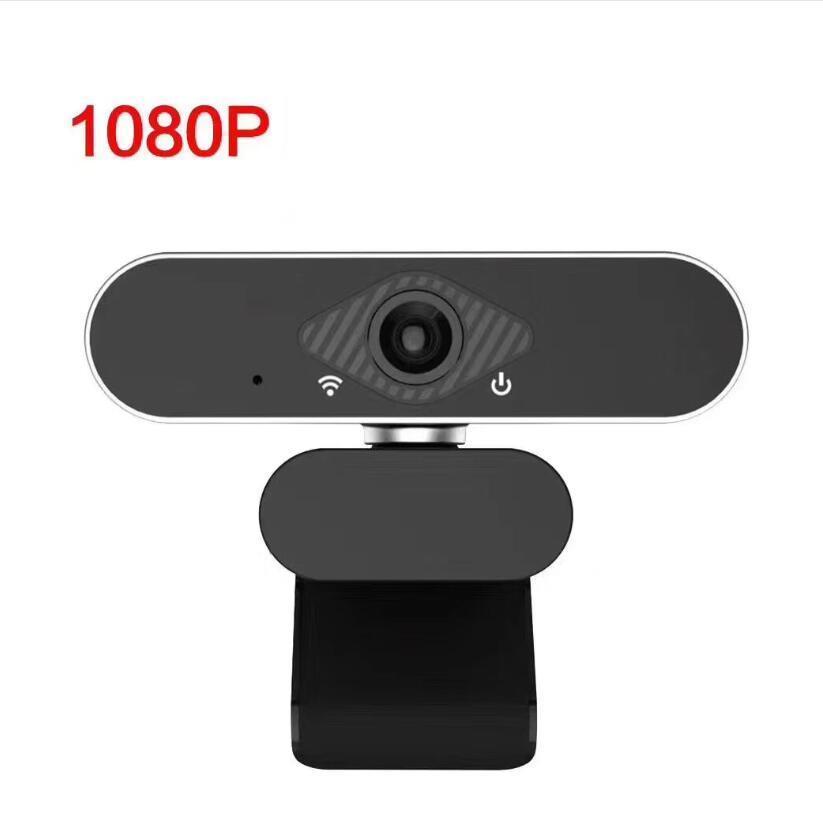 1080P 웹캠과 마이크 60FPS 웹캠 자동 초점 스트리밍 HD USB 컴퓨터 웹 카메라 PC 노트북 데스크탑 비디오 A870