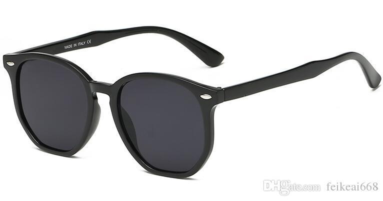 Yeni Moda Tasarımcısı Moda Güneş Gözlüğü Kare Hollow Çerçeve Popüler Stil Basit Kalite Erkekler Orijinal Kutusu ile Açık Gözlük ray 4306