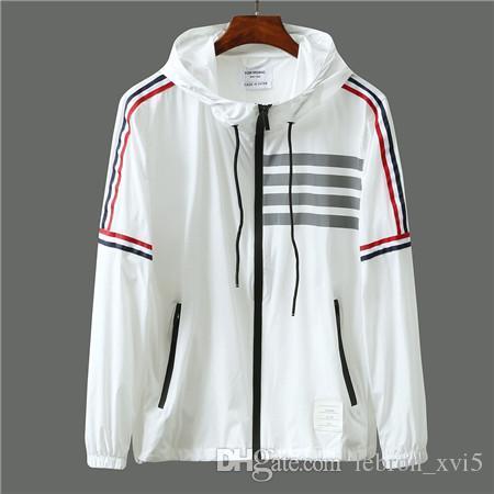 роскошные бренды дизайн письма TB embroiderd легкая одежда кожи шлифа куртка Мужчины Женщины Открытый Streetwear Толстовка Толстовки
