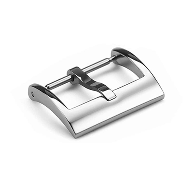 Top quality Silver Stainless Steel Watch Buckle 16mm 18mm 20mm Clasp 316L