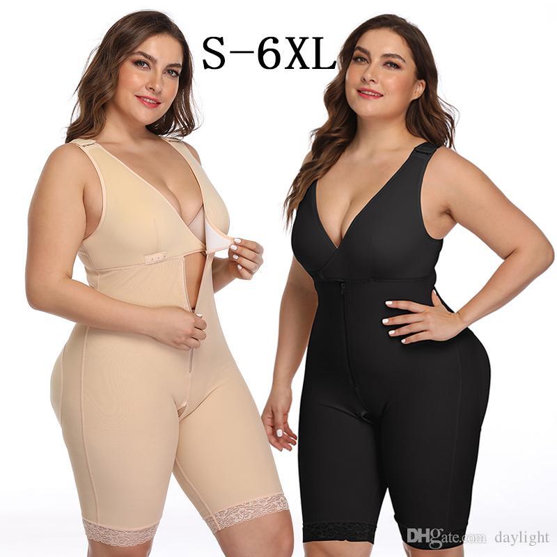 Wechery Body Femmes Body Shaper Taille Formateur Shapewear Ventre Minceur Shapers Gaine Fajas Plus La Taille