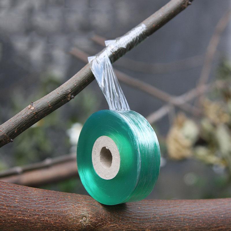 El injerto 2CMX100M cinta estirable auto-adhesivo de injerto de la película Special Fruit árbol injerto Herramienta para el jardín lazo de cinta