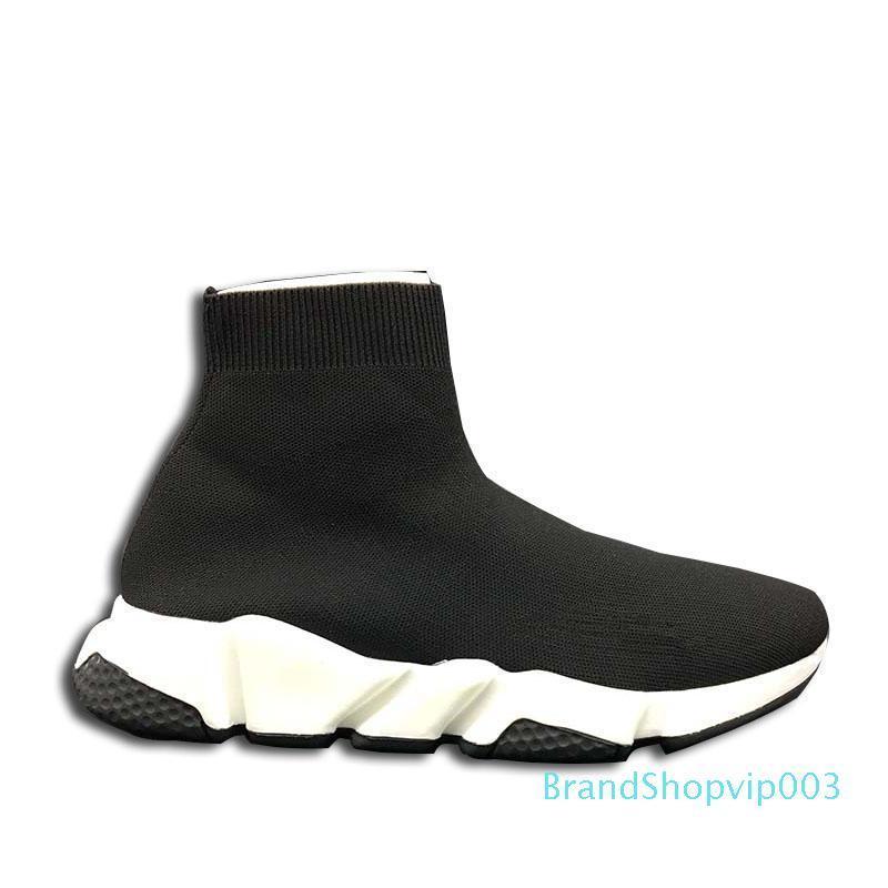 2018 New Paris Sock Sneaker Speed Trainer raça Mid Amor calçados casuais unisex Botas Homens Mulheres Esportes Lazer sapatos