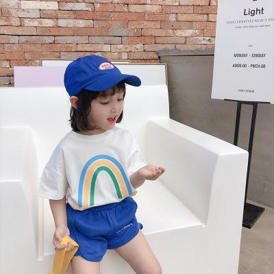 2020 Девушки с коротким рукавом футболки Детский конструктор Топы Дети Casual Summer Tops Мода Печать футболки девочек Лучшие качества одежды 2020 Стиль