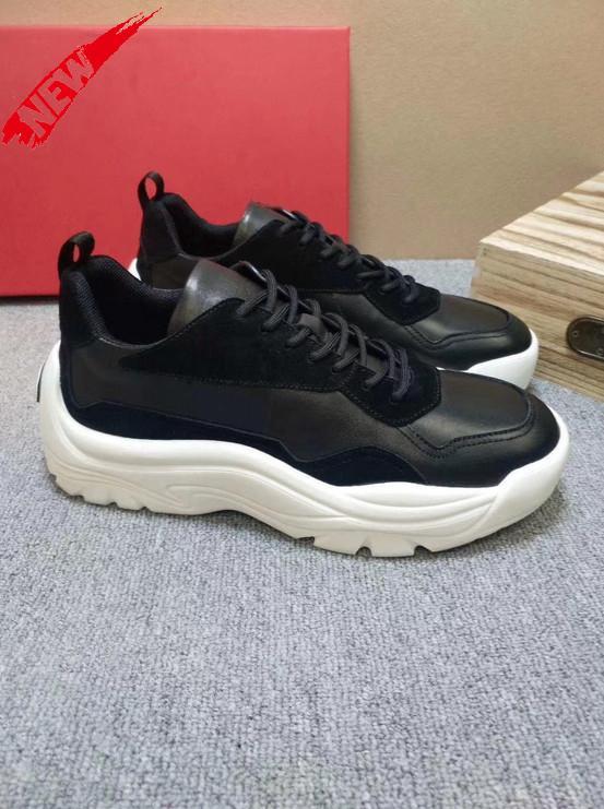 2020 Luxe Hommes Chaussures Casual Mode Zapatos de hombre ronde Gumboy espadrille VL665 vachette Chaussures pour hommes Vintage Livraison rapide E5