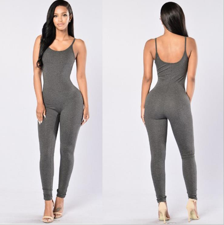NEW LU-20 Sexy Sleeveless Backless Bodysuit Overalls 2020 Women Jumpsuits One Piece Yoga Set Long Pants Fitness Workout Leggings Tights