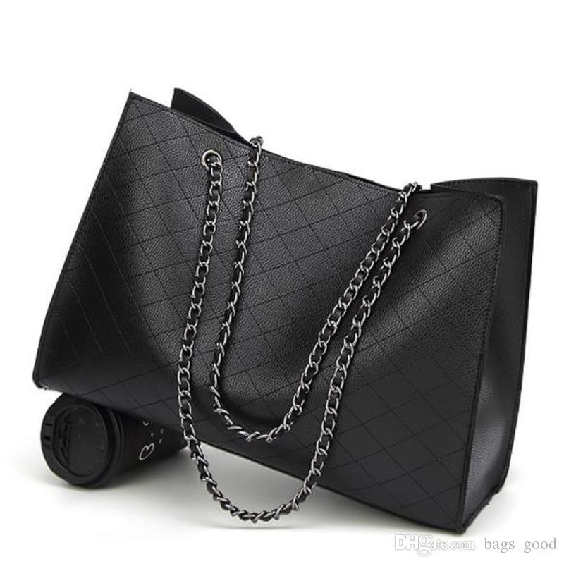 Neue Ledertaschen Für Frauen Luxus Handtaschen Frauen Taschen Designer Große Tote Handtasche Kette Leder Handtasche kostenloser versand