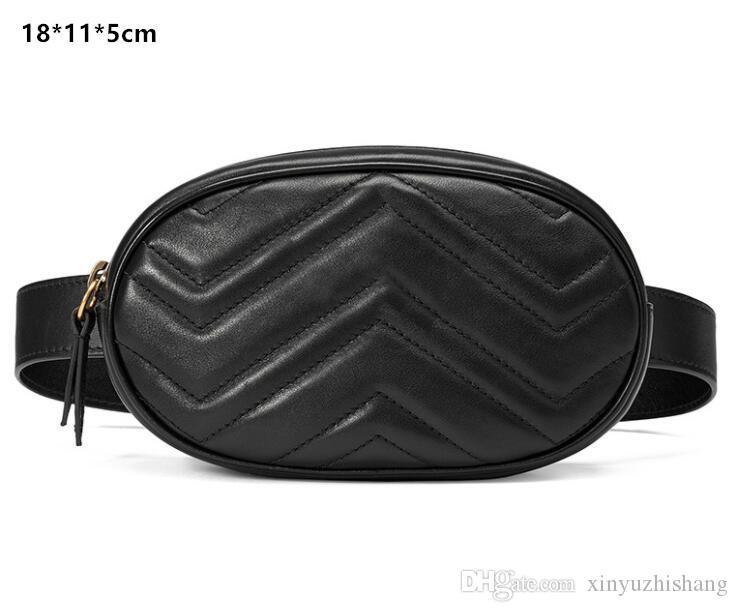 FH43 # Bolsa famosa, cintura Unisex Consulte Material de moda Material Microfibra billetera Marca por favor a la PU original FHCDQ