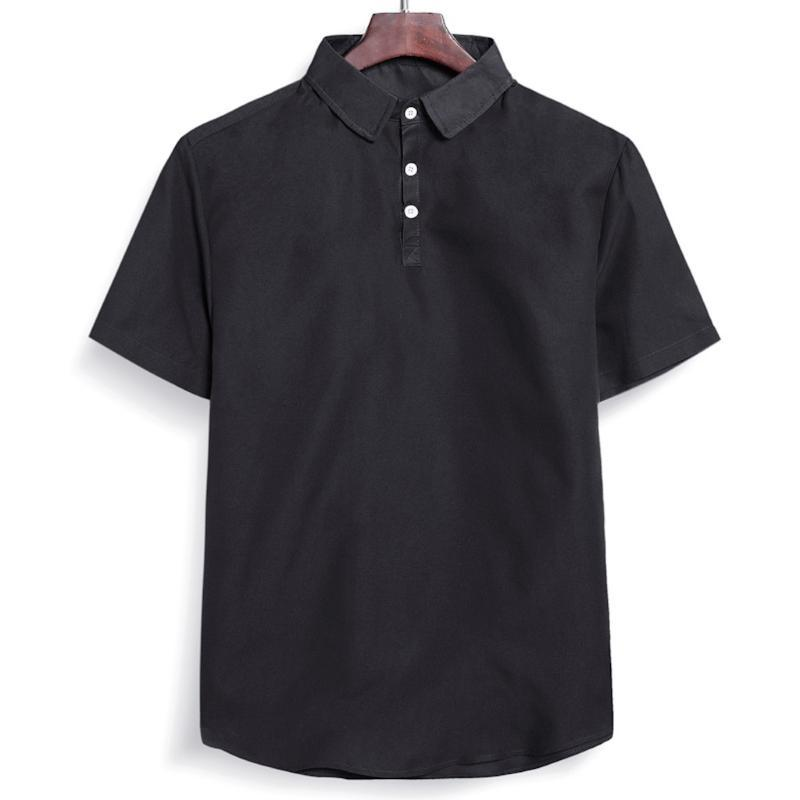 الرجال عارضة القمصان الصيف قميص قصير الأكمام camisas رقيقة المتناثرة للرجال التلبيب بلوزة لون نقي الأعلى camisa hawaiana hombre