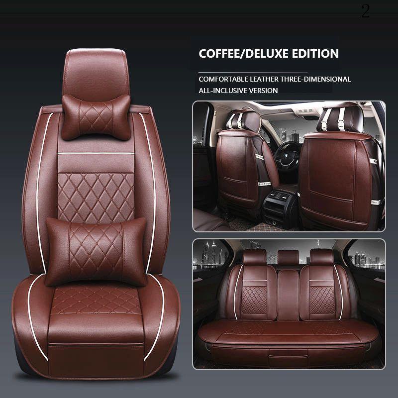 Assento de couro capa para o Honda Civic Corrente 2003 Jazz Honda CRV 2008 Honda CRV 2008 assento do piloto Accord Car capa impermeável Araba Koltuk Kilifi