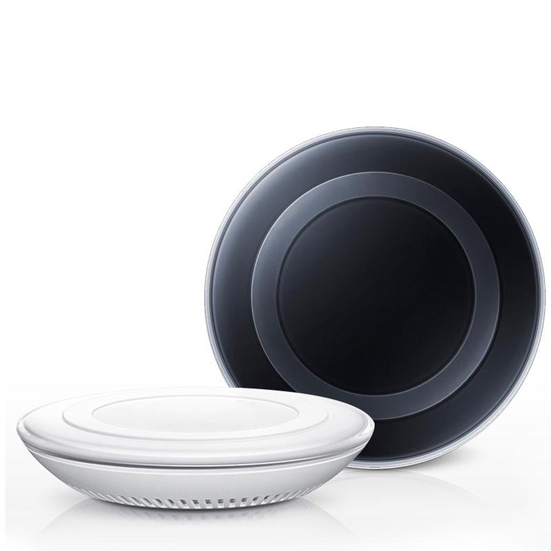 Qi Fast Wireless Charger Charging Pad For Samsung Galaxy S8 Plus S7 S7 edge / S6 / S6 Edge Edge+ Note 9 s9 Plus