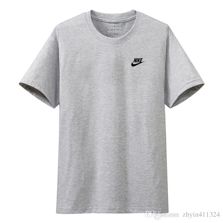 Kurzarm Lose Mode Shirt Herren Druck Casual Design Für Shirt T 2019 Shirts Tees Großhandel Rundhals T Männer Tops T Brief Shirt T Verlegenheit NIKE TKc3l1FJu