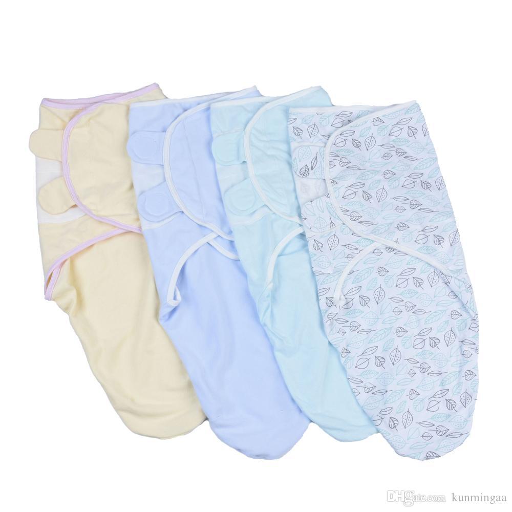 Neonato Swaddle Wrap 100% cotone neonato Neonato Prodotti Coperta fasciatoio avvolgere neonato coperta dorme