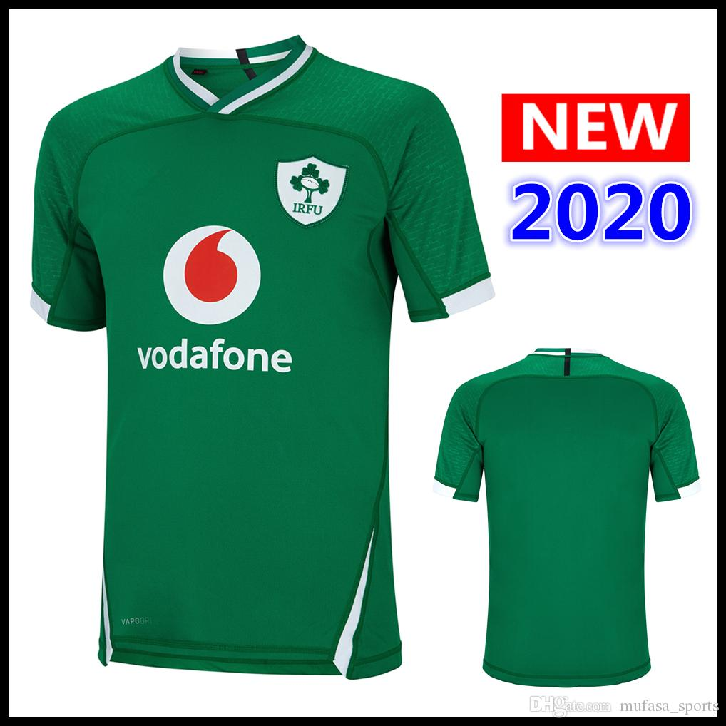 Hot sales 2020 Ireland Rugby jersey HOME Shirt national team IRELAND IRFU rugby jerseys s-3xl free shipping