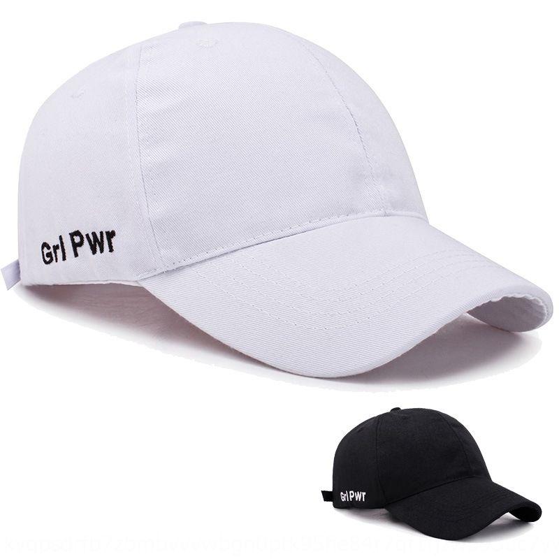 Reba baseball noir automne enfants casquette de baseball soleil chapeau lettre femme chapeau brodé chapeau Trendsetter