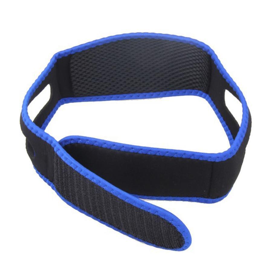 Homens Mulheres Anti ronco Chin Strap Belt Adulto Unisex Elastic Headband parar ronco do sono Belt Adormecida Cuidados parar de ressonar Cintos DH1217 T03