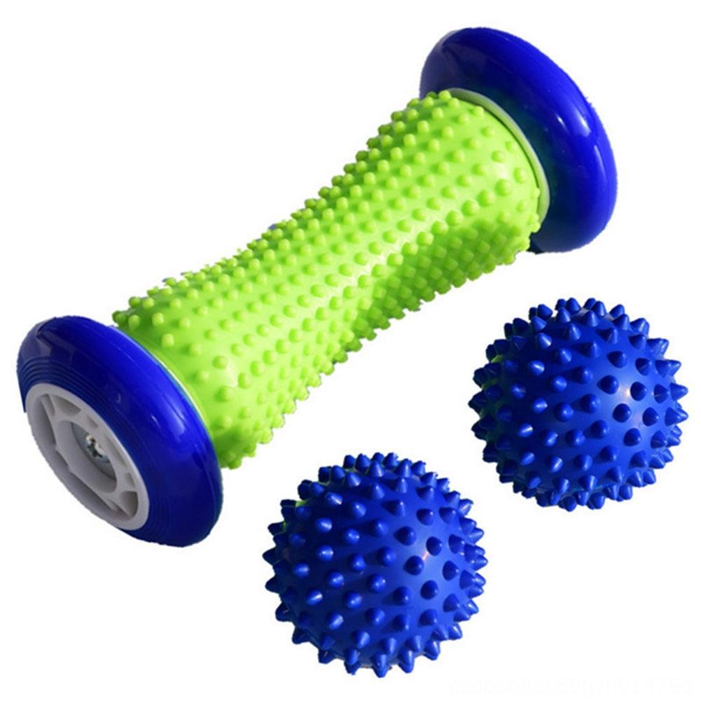 Forniture Training Body Therapy Pain Relief Palestra Attrezzature Fitness fitness portatile della sfera di massaggio Set sperone calcaneare Roller fascite plantare del piede