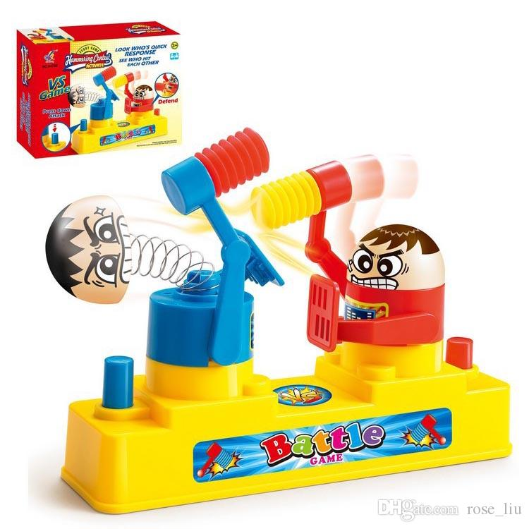 New Funny Antistress Tricks Gadget Toy Combat Boxing VS Games Fighting Board Game Family parent-child interactive Toy gift C