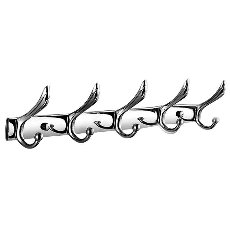 LIXF Single Rod Hooks 45Cm Wall Coat Hanger Bathroom Cloth Towel Rack Holders Kitchen Room Cabinet Coat Hat Row Hooks Hanger