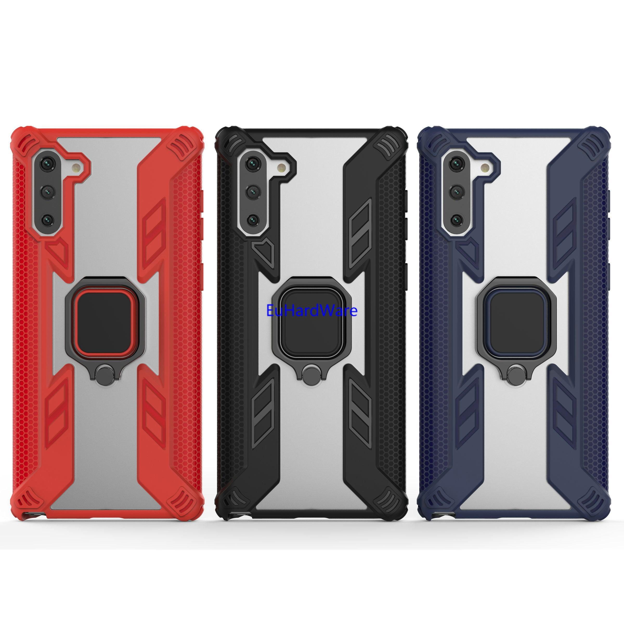 Para samsung Nota 10 caso nota 10+ caso s10 S9 a50 a9 Estojo de protecção   kickstand   Compatível para telefones Samsung